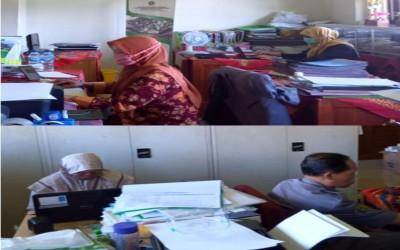 PJJ BDK Semarang Mewarnai Suasana Kantor TU MIN 1 Banyumas