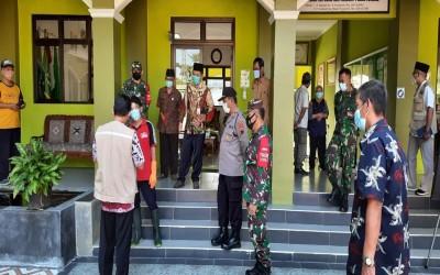 Satgas Covid-19 Kabupaten Pantau Uji Coba PTM