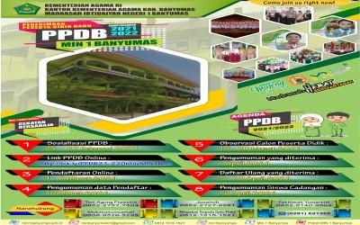 PPDB MI Negeri 1 Banyumas Tahun Pelajaran 2021-2022